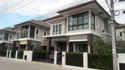 บ้านเดี่ยวสองชั้น 4300000 นนทบุรี บางบัวทอง พิมลราช