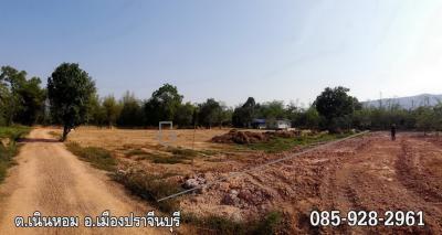 ที่ดิน 1035000 ปราจีนบุรี เมืองปราจีนบุรี เนินหอม