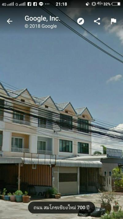 อาคารพาณิชย์ 4900000 เชียงใหม่ เมืองเชียงใหม่ ท่าศาลา