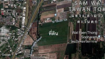 ที่ดิน 6000000 กรุงเทพมหานคร เขตคลองสามวา สามวาตะวันออก