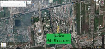ที่ดิน 40000 ปทุมธานี ธัญบุรี ประชาธิปัตย์