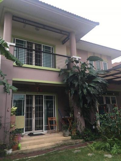 บ้านเดี่ยว 4000000 ปทุมธานี ธัญบุรี ประชาธิปัตย์