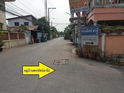 ทาวน์เฮาส์ 2990000 นนทบุรี เมืองนนทบุรี ท่าทราย