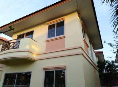 บ้านเดี่ยวสองชั้น 2650000 ฉะเชิงเทรา บางปะกง บางสมัคร