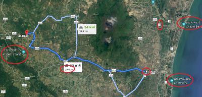 ที่ดิน 650000 เพชรบุรี ท่ายาง กลัดหลวง
