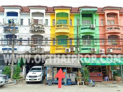 อาคารพาณิชย์ 1400000 ปทุมธานี ลำลูกกา บึงคำพร้อย