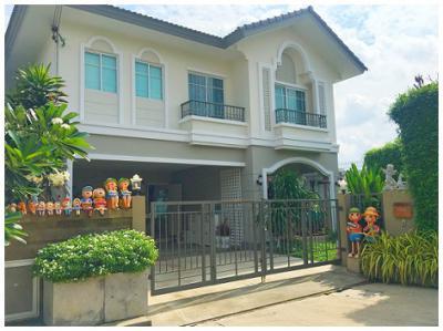 บ้านพร้อมที่ดิน 5800000 ปทุมธานี ธัญบุรี ประชาธิปัตย์