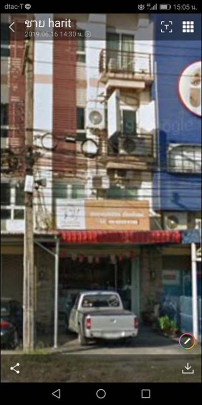 อาคารพาณิชย์ 5850000 ชลบุรี เมืองชลบุรี ห้วยกะปิ