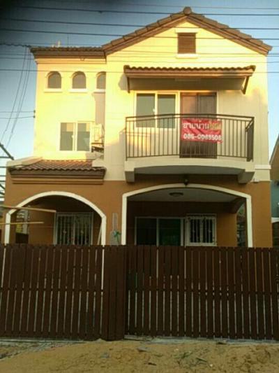 บ้านพร้อมที่ดิน 2400000 ปทุมธานี ธัญบุรี ประชาธิปัตย์