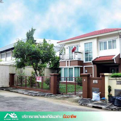 บ้านเดี่ยวสองชั้น 5390000 นนทบุรี เมืองนนทบุรี บางรักน้อย