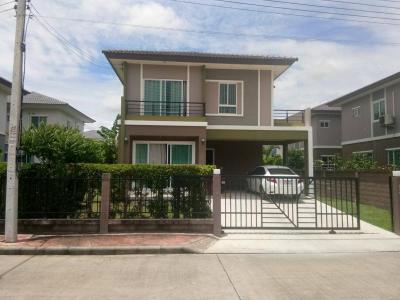 บ้านเดี่ยวสองชั้น 4500000 ปทุมธานี เมืองปทุมธานี บางกะดี