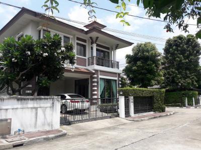 บ้านเดี่ยวสองชั้น 13500000 นนทบุรี เมืองนนทบุรี ท่าทราย
