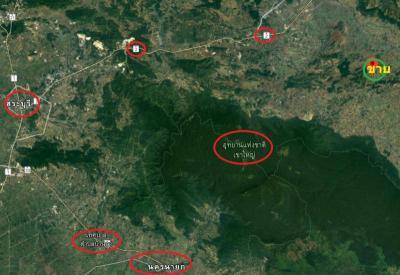 ที่ดิน 1250000 นครราชสีมา ปากช่อง คลองม่วง