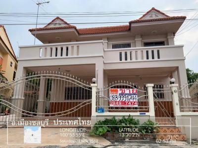 บ้านเดี่ยว 4500000 ชลบุรี เมืองชลบุรี อ่างศิลา
