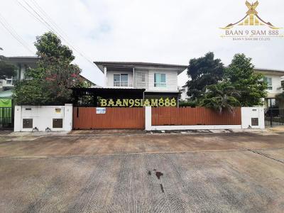 บ้านเดี่ยว 4590000 นนทบุรี บางใหญ่ เสาธงหิน