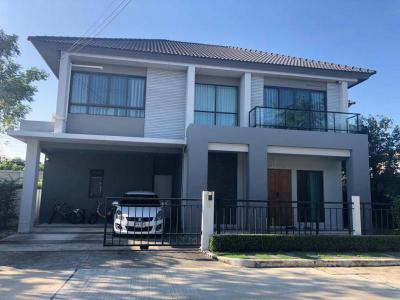 บ้านเดี่ยวสองชั้น 14500000 นนทบุรี เมืองนนทบุรี บางไผ่