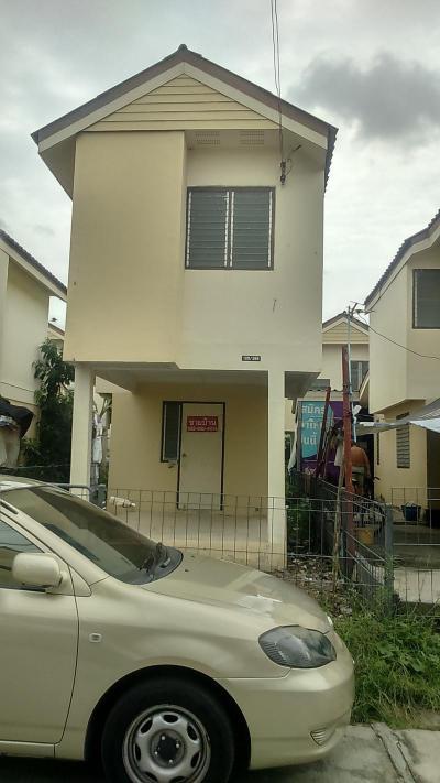 บ้านเดี่ยวสองชั้น 600000 ปทุมธานี ธัญบุรี บึงสนั่น