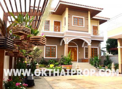 บ้านพร้อมที่ดิน 14000000 นนทบุรี เมืองนนทบุรี บางกระสอ