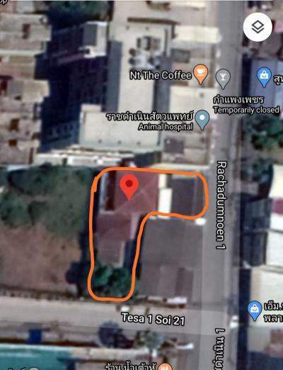 บ้านพร้อมที่ดิน 12500000 กำแพงเพชร เมืองกำแพงเพชร ในเมือง