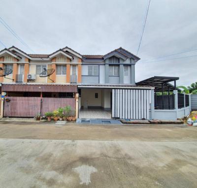บ้านแฝดสองชั้น 2490000 ปทุมธานี เมืองปทุมธานี หลักหก