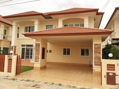 บ้านเดี่ยวสองชั้น 4600000 ระยอง บ้านฉาง พลา