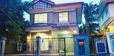 บ้านเดี่ยว 4550000 กรุงเทพมหานคร เขตลาดกระบัง คลองสองต้นนุ่น