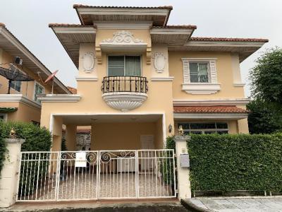 บ้านเดี่ยว 5000000 นนทบุรี เมืองนนทบุรี ตลาดขวัญ