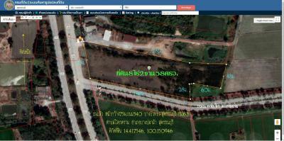 ที่ดิน 51870000 สุพรรณบุรี บางปลาม้า โคกคราม