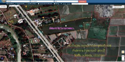 ที่ดิน 39545000 สุพรรณบุรี บางปลาม้า โคกคราม