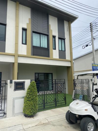 บ้านโครงการใหม่ 2990000 ปทุมธานี ธัญบุรี บึงยี่โถ