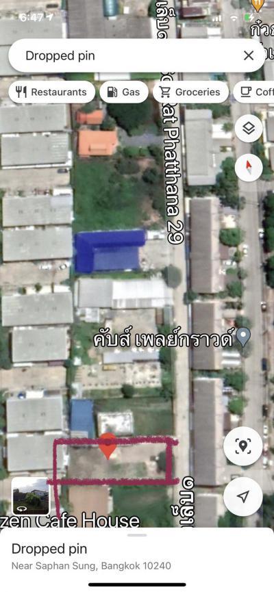 ที่ดิน 42000 กรุงเทพมหานคร เขตสะพานสูง สะพานสูง