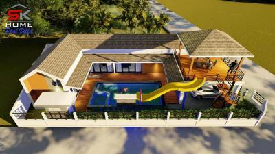 บ้านเดี่ยว 4500000 เพชรบุรี ชะอำ ไร่ใหม่พัฒนา