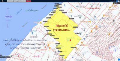 ที่ดิน 3851500000 นนทบุรี เมืองนนทบุรี บางกระสอ