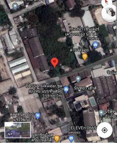ที่ดิน 0 กรุงเทพมหานคร เขตหลักสี่ ตลาดบางเขน