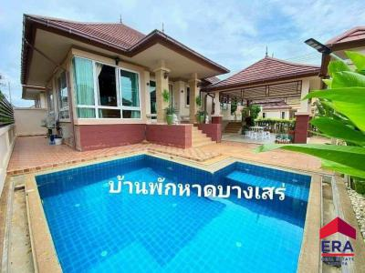 บ้านเดี่ยว 11500000 ชลบุรี สัตหีบ บางเสร่