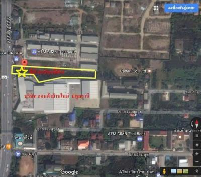ที่ดิน 46404000 ปทุมธานี เมืองปทุมธานี บ้านใหม่