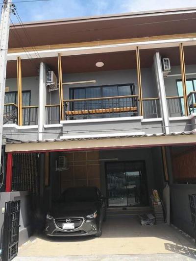 ทาวน์เฮาส์ 1850000 ชลบุรี บ้านบึง หนองบอนแดง